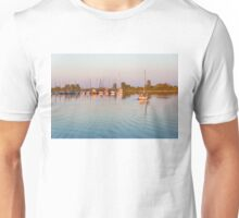 Impressions of Summer - Sailing Home at Sundown Unisex T-Shirt