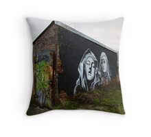 Changed Rooms Throw Pillow