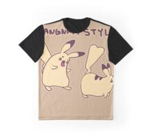 Pikachu Gangnam Style Parody Graphic T-Shirt