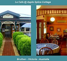 Le Cafe @ Apple Splice Cottage by Chris Chalk