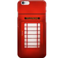 Telephone Cabine iPhone Case/Skin