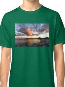 Colorful Summer Sunset - Lake Ontario Impressions Classic T-Shirt