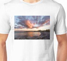Colorful Summer Sunset - Lake Ontario Impressions Unisex T-Shirt