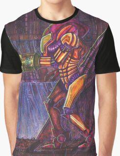 Retro Metroid Samus Arana Nintendo Graphic T-Shirt