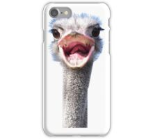 Goofy ostrich iPhone Case/Skin