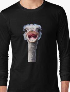 Goofy ostrich Long Sleeve T-Shirt