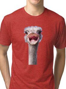 Goofy ostrich Tri-blend T-Shirt