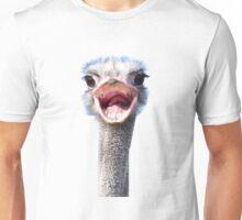 Goofy ostrich Unisex T-Shirt