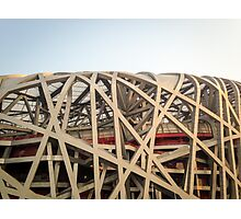 Bird Nest Stadium Photographic Print