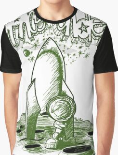 Space Cadet Green Edition Graphic T-Shirt