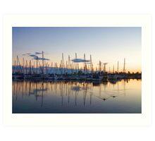 Yachts and Sailboats - Lake Ontario Impressions Art Print