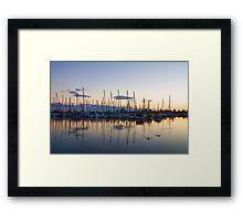 Yachts and Sailboats - Lake Ontario Impressions Framed Print