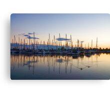 Yachts and Sailboats - Lake Ontario Impressions Canvas Print