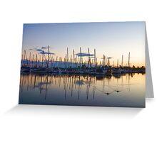Yachts and Sailboats - Lake Ontario Impressions Greeting Card