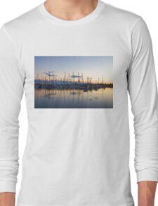 Yachts and Sailboats - Lake Ontario Impressions Long Sleeve T-Shirt