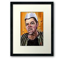 Griff Framed Print
