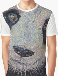 Panda Portrait Graphic T-Shirt