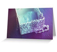 Rainbow Jewel Box Greeting Card
