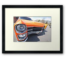 Get bent! Framed Print