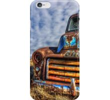 End Of The Road (canvas)  iPhone Case/Skin