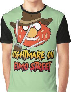 Nightmare on elmo street. Horror. Graphic T-Shirt
