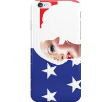 USA Pin Up Girl iPhone Case/Skin