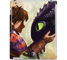 How to Train Your Dragon - Hiccup and Toothless iPad Case/Skin