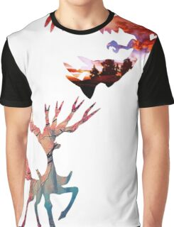 Xerneas vs Yveltal Graphic T-Shirt