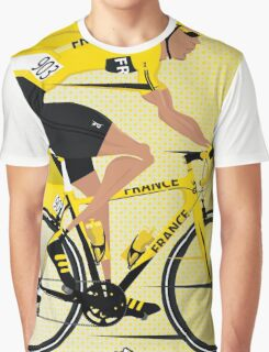 France Yellow Jersey Graphic T-Shirt