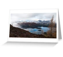 Derwent Water from Walla Crag Greeting Card
