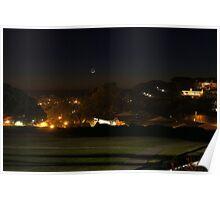 Dana Point Sunset Christmas Night 2011 Poster