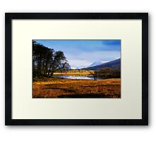 Scottish Countryside Framed Print