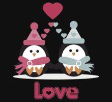 Penguin Love Kids Clothes
