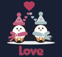 Penguin Love Kids Tee