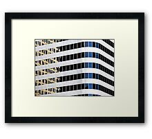 Denver reflection 31 Framed Print