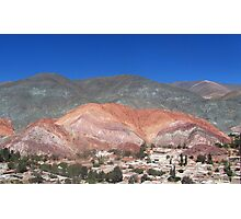 7 Colors Hill Photographic Print
