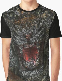 Facepage - Tiger Poster (color) Graphic T-Shirt