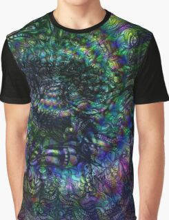 Terence McKenna Tribute Poster Graphic T-Shirt