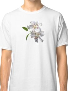 Two White Lilies Classic T-Shirt