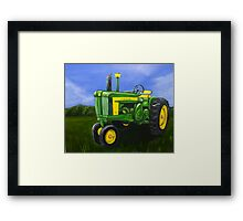 Grampa's Tractor Framed Print