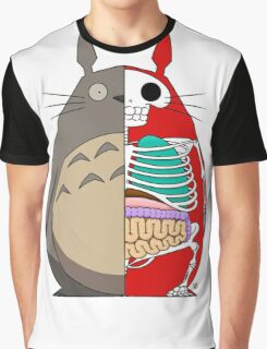 Totoro Dissected Graphic T-Shirt