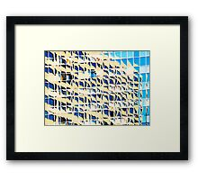 Denver reflection 34 Framed Print