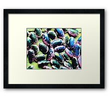 Magic Beans  Framed Print