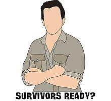 Survivors Ready? Photographic Print