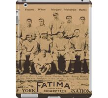 Benjamin K Edwards Collection New York Giants baseball card portrait iPad Case/Skin