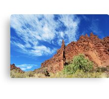 Tupiza And Arizona Canvas Print