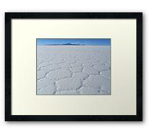 Uyuni Salt Flats Framed Print