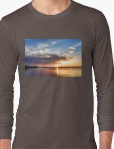 Brilliant June Sunrise - Toronto Skyline Impressions Long Sleeve T-Shirt