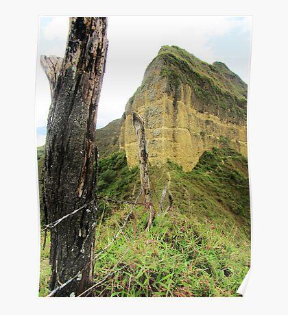 Vilcabamba´s Ridge-Top Trail Poster