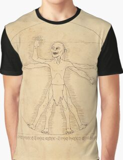 Gollum and his Precious Ring Graphic T-Shirt